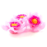 Pink Gardenia Floating Candle large